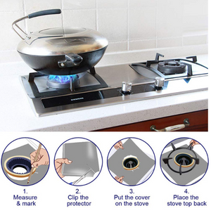 Aluminum Foil Stove Top Cover-BUY 3 SET GET 1 SET FREE (FREE SHIPPING)