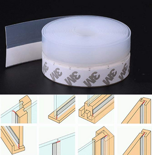 Multifunctional sealing strip