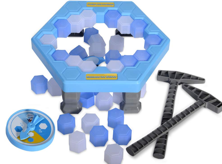 Entertainment toys break ice penguins