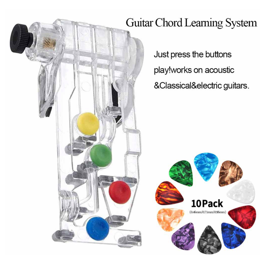 Guitar Chord System Assisted Learning +10 Picks【50%OFF】
