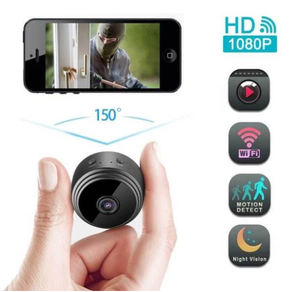 WIFI wireless HD infrared night vision camera【50%OFF】