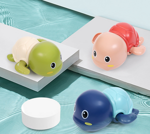 Children bathing bath toys