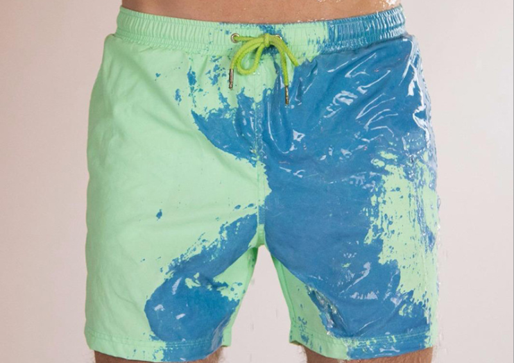 Magic swimming trunks that change color【Free shipping】