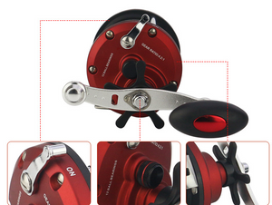 Visual anchor fish drum wheel JD fishing wheel【Free shipping】