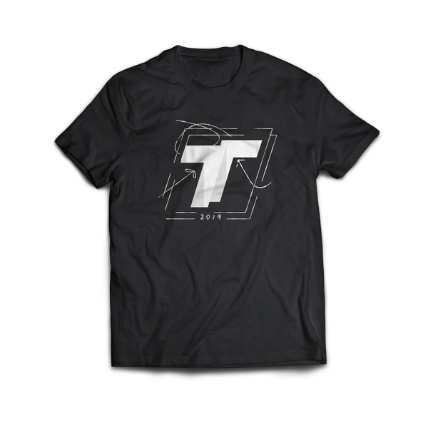 TechSmartt Sketch Logo T-Shirt