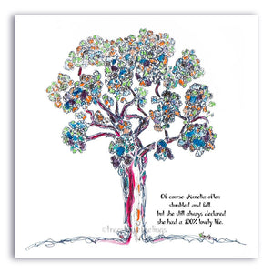 "ROOTED GREETING CARDS | 5""x5"" folded 