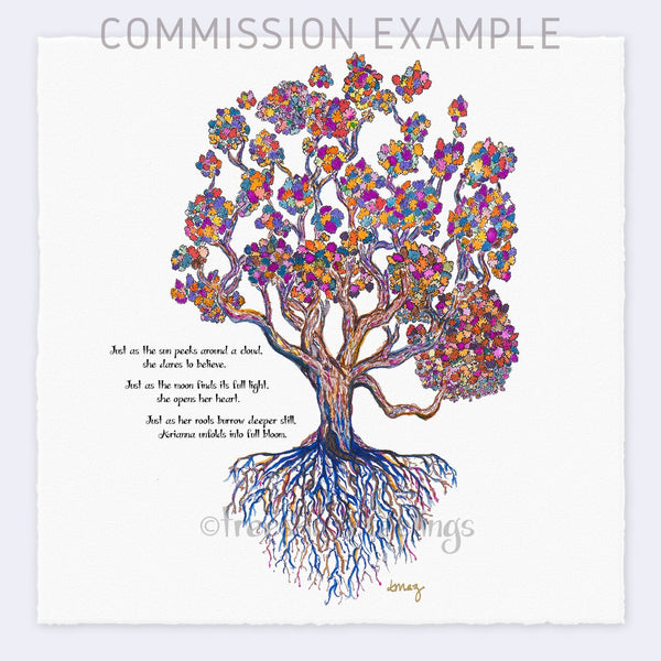 ARIANNA Commission TREES HAVE FEELINGS