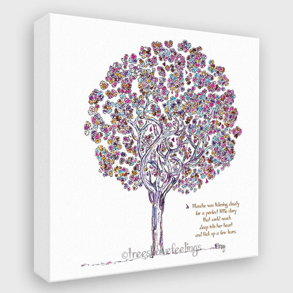 BLANCHE | Canvas Canvas TREES HAVE FEELINGS