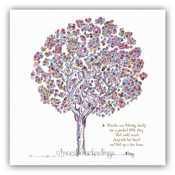 BLANCHE | Giclée Print Print TREES HAVE FEELINGS