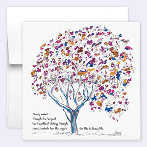 EMMA BLU | Single Card card TREES HAVE FEELINGS