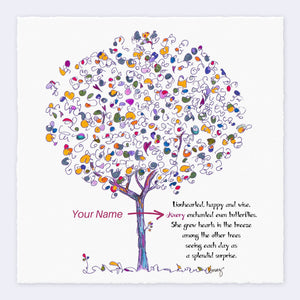 GEORGIE | *PERSONALIZED* Giclée Print Print TREES HAVE FEELINGS