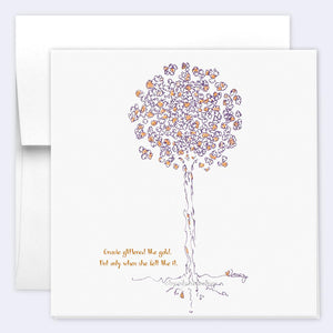 GRACIE | Single Card card TREES HAVE FEELINGS