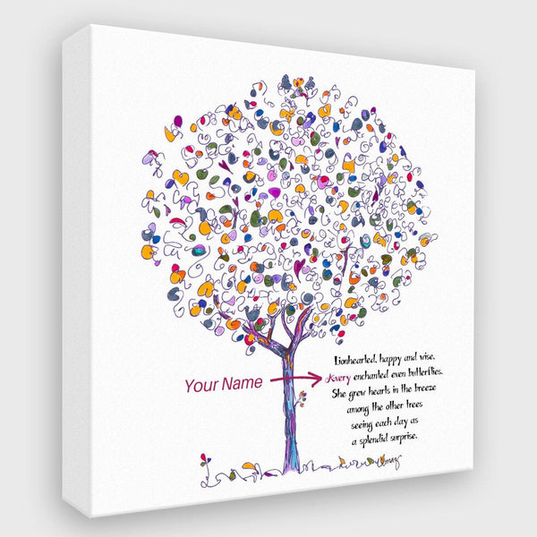 GEORGIE | *PERSONALIZED Canvas Canvas TREES HAVE FEELINGS