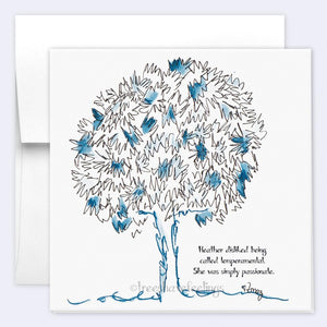 HEATHER | Single Card card TREES HAVE FEELINGS