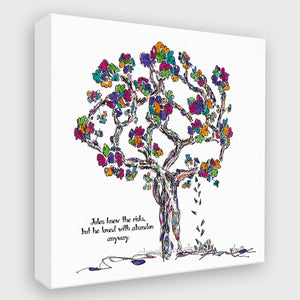 JULES | Canvas Canvas TREES HAVE FEELINGS