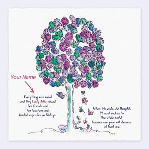 LORD LIAM | *PERSONALIZED* Giclée Print Print TREES HAVE FEELINGS
