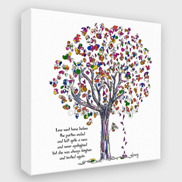 LOVE | Canvas Canvas TREES HAVE FEELINGS