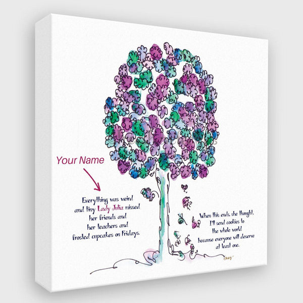 LORD LIAM | *PERSONALIZED Canvas Canvas TREES HAVE FEELINGS