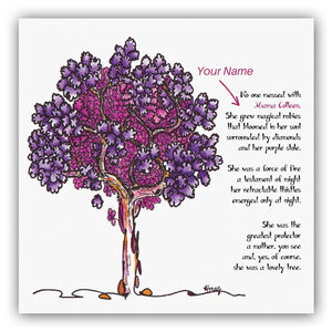 MAMA FIRENZA | *PERSONALIZED* Giclée Print Print TREES HAVE FEELINGS