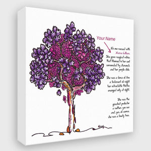 MAMA FIRENZA | *PERSONALIZED Canvas Canvas TREES HAVE FEELINGS