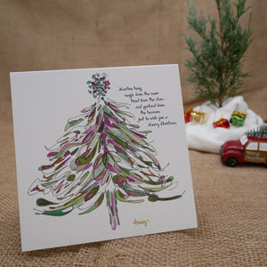 "CHRISTMAS CARDS | 5""x5"" folded 