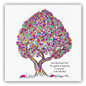 MISS PEARL | *PERSONALIZED* Giclée Print Print TREES HAVE FEELINGS