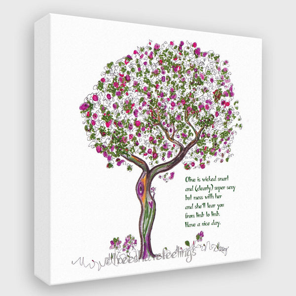 OLIVE | Canvas Canvas TREES HAVE FEELINGS