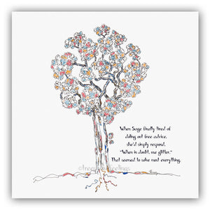 SAGE | Giclée Print Print TREES HAVE FEELINGS