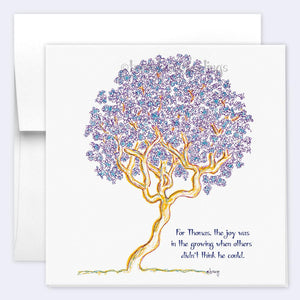 THOMAS | Single Card card TREES HAVE FEELINGS
