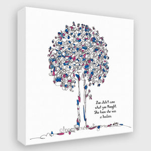 ZOE | Canvas Canvas TREES HAVE FEELINGS