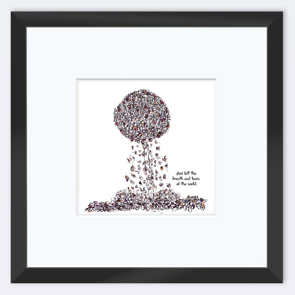 ANI | Framed Print Framed TREES HAVE FEELINGS