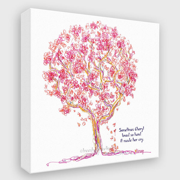 CHERYL | Canvas Canvas TREES HAVE FEELINGS