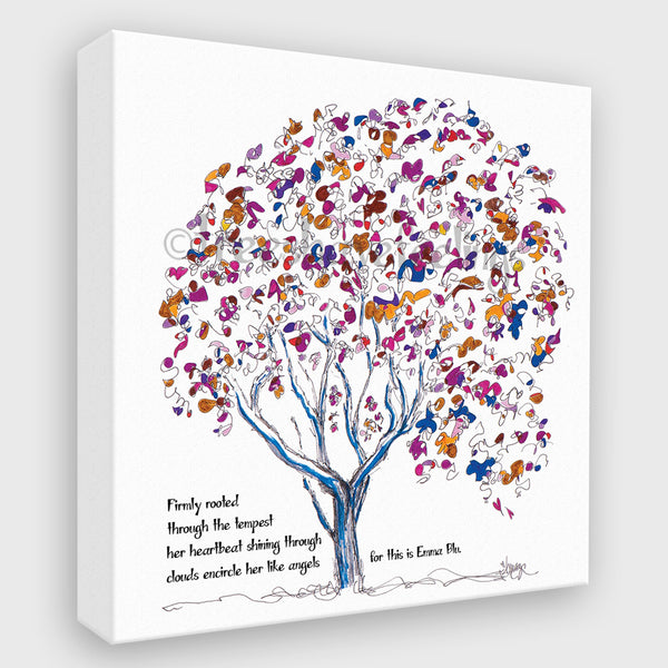 EMMA BLU | Canvas Canvas TREES HAVE FEELINGS