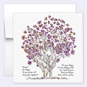 HARPER & POPPY | Single Card card TREES HAVE FEELINGS