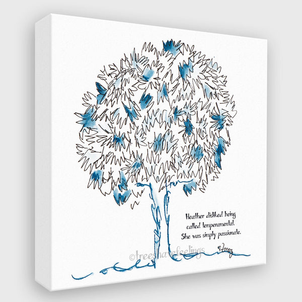 HEATHER | Canvas Canvas TREES HAVE FEELINGS