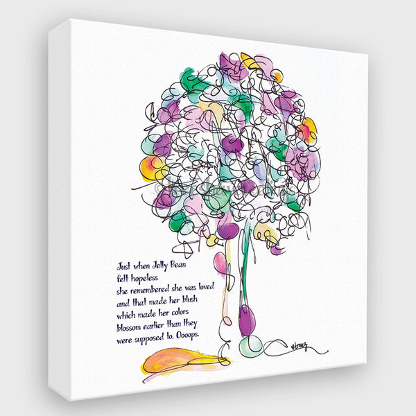 JELLY BEAN | Canvas Canvas TREES HAVE FEELINGS