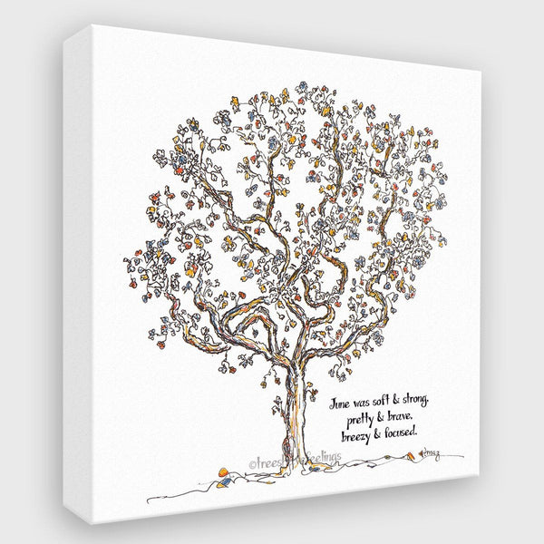 JUNE | Canvas Canvas TREES HAVE FEELINGS