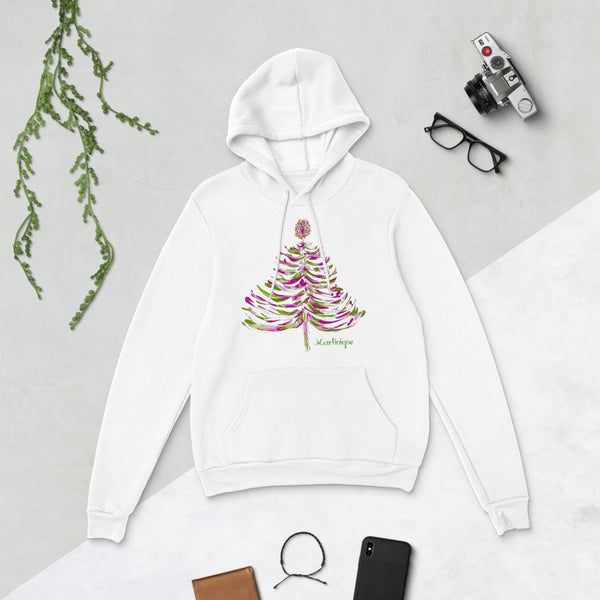 MARTINIQUE  LIMITED EDITION CHRISTMAS 2019 HOODIE -- WHITE