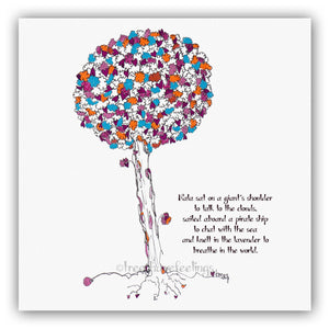NALA | Giclée Print Print TREES HAVE FEELINGS