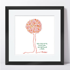 SALLY  |  Framed Print