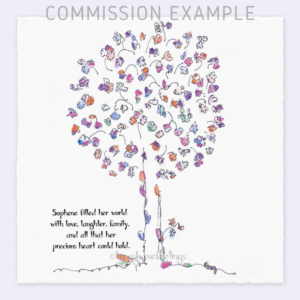 SOPHENE Commission TREES HAVE FEELINGS