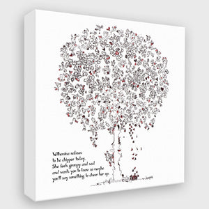 WILHEMINA | Canvas Canvas TREES HAVE FEELINGS