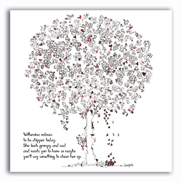 WILHEMINA | Giclée Print Print TREES HAVE FEELINGS
