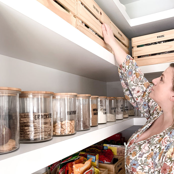 TOP 5 PANTRY TIPS