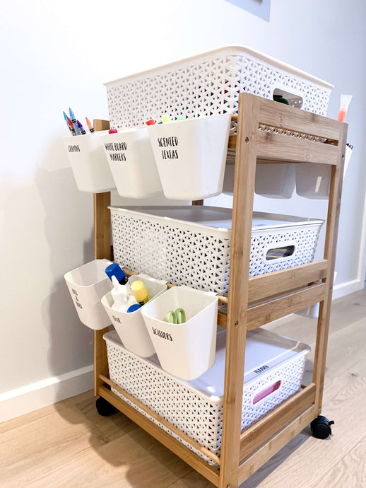 DIY: Kids Craft Trolley