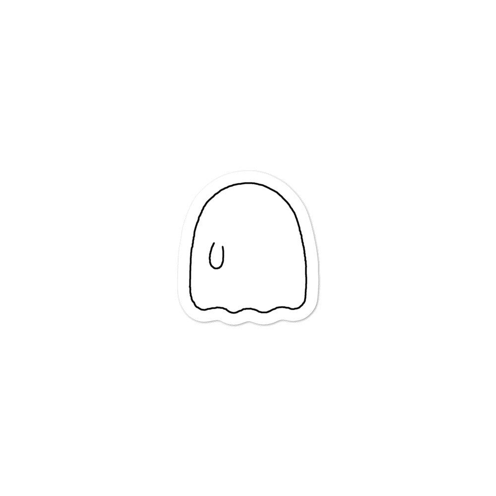 "Ghost Sticker (3x3"")"