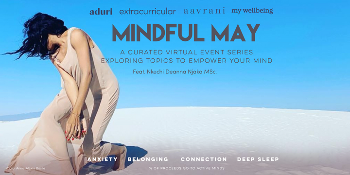 Aduri's Mindful May Event Series