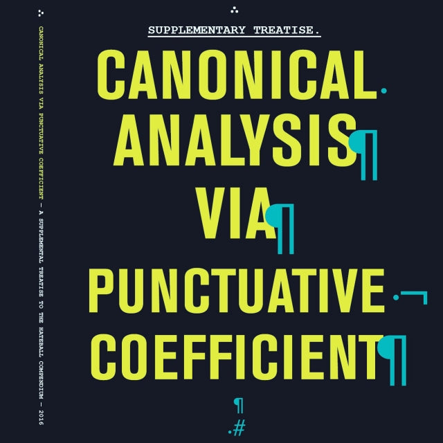 Supplementary Treatise: Canonical Analysis via Punctuative Coefficient