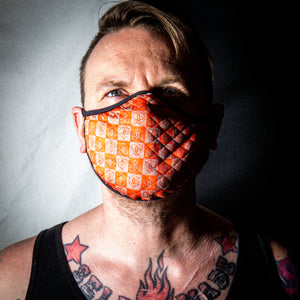 Cloth Facemask: 3D Checkerboard