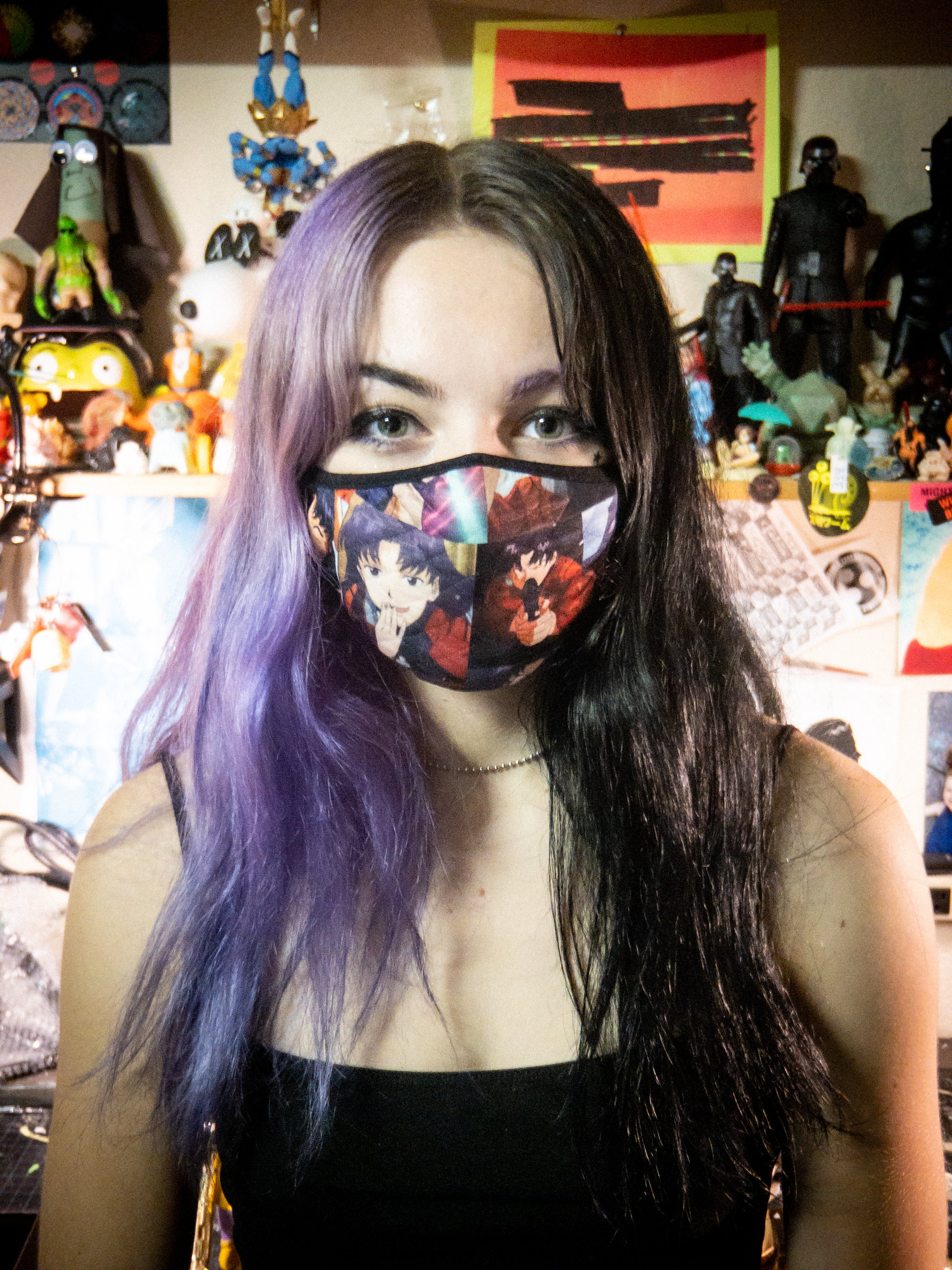 Cloth Facemask: Misato Bae